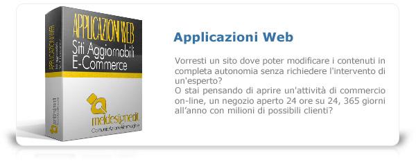 Siti internet aggiornabili ed realizzazione e-Commerce