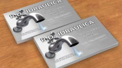 Bigliettino da visita RD Idraulica - Tricarico