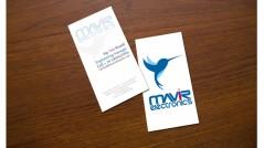 Bigliettino da visita per Mavir Electronics