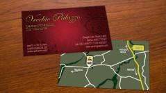 Bigliettino da visita per Bed and Breakfast Vecchio Palazzo