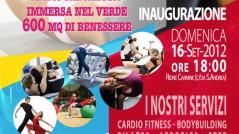 Locandina inaugurazione Palestra Energy Fitness Center