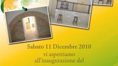 Volantino inaugurazione Bed and breakfast, Bar ristorante Vecchio Palazzo