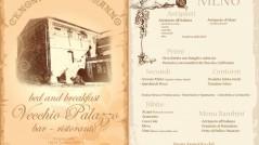 Menu Capodanno 2011 Bed and breakfast, Bar ristorante Vecchio Palazzo