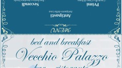Menu Befana 2011 Bed and breakfast, Bar ristorante Vecchio Palazzo