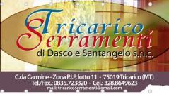 Striscione in PVC 3×1,5 mt Tricarico Serramenti - Infissi