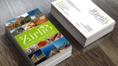 Bigliettino da visita per Zirlio Travel Experience - Tricarico