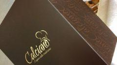 Grafica scatola panettone tradizionale Pasticceria Calciano Tricarico