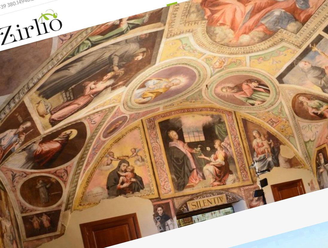 Realizzazione sito Zirlio Travel Experience - Tricarico